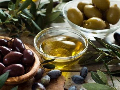 Sæbe med olivenolie
