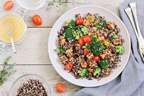 Quinoa hjælper med at tone balder, lår og hofter