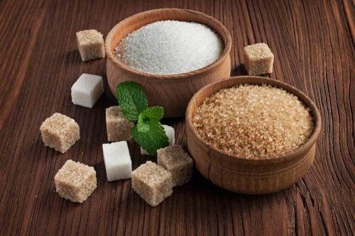 Sukker og bagepulver