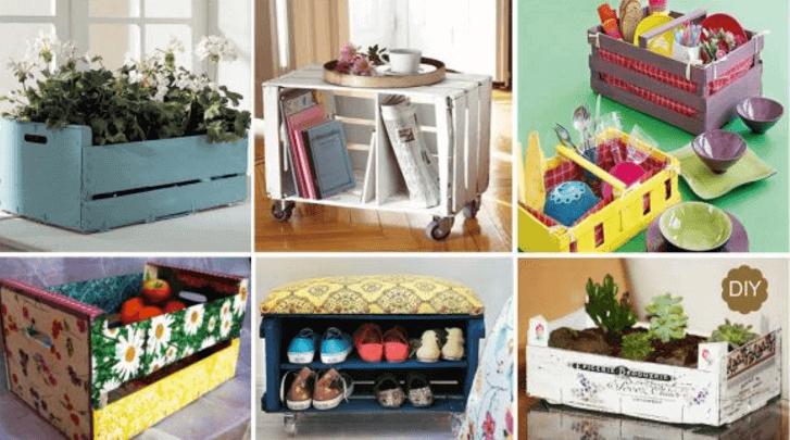 Prøv at lave disse 7 sjove ting med gamle kasser