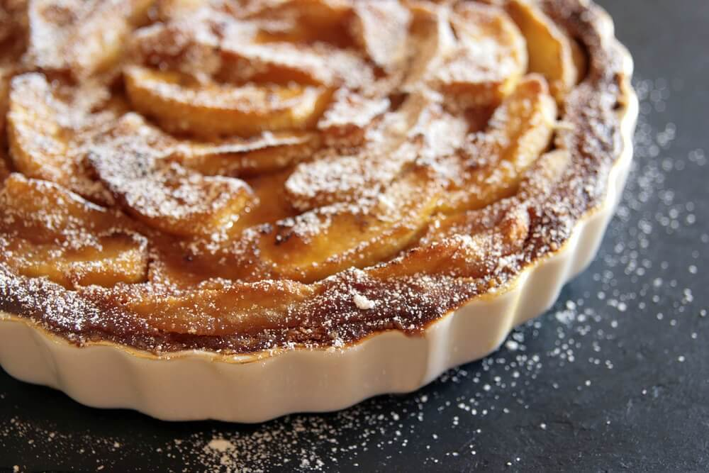 Verdens nemmeste opskrift på æbletærte