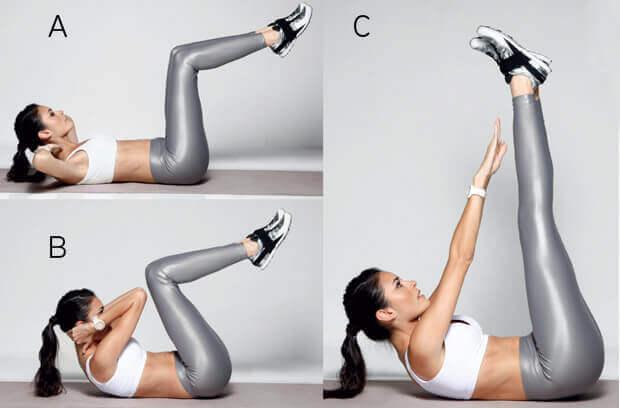 Seks praktiske mavemuskeløvelser du kan lave på stuegulvet