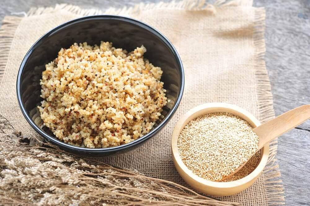Spis quinoa og tab dig
