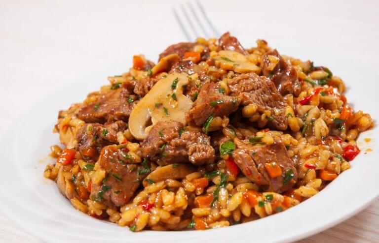 Kinesisk opskrift: Ris med kylling og honning