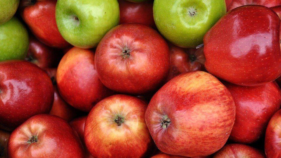 Friske æbler