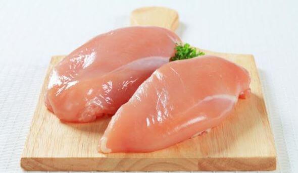 Rå kylling.