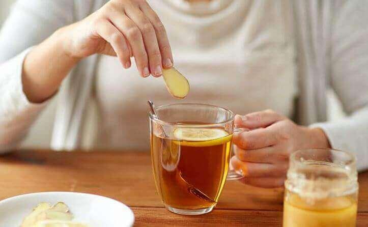Kanel te med citron