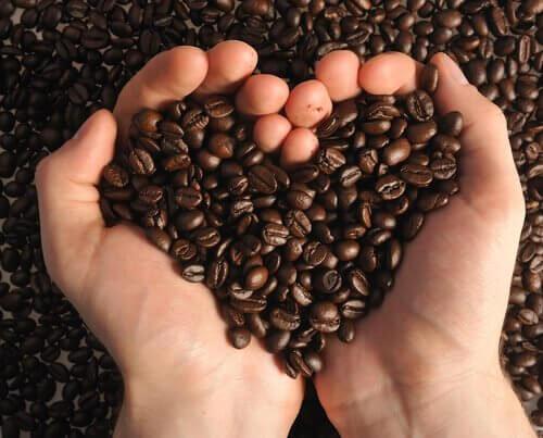Kaffebønner.