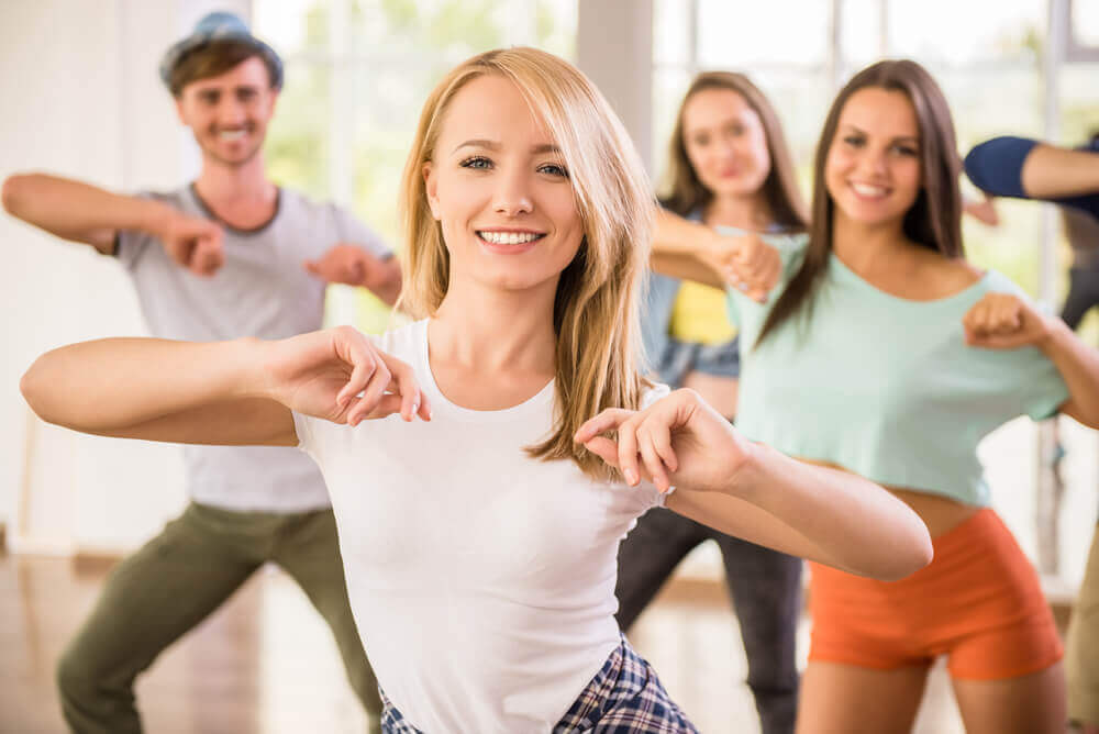 Kvinder der danser.