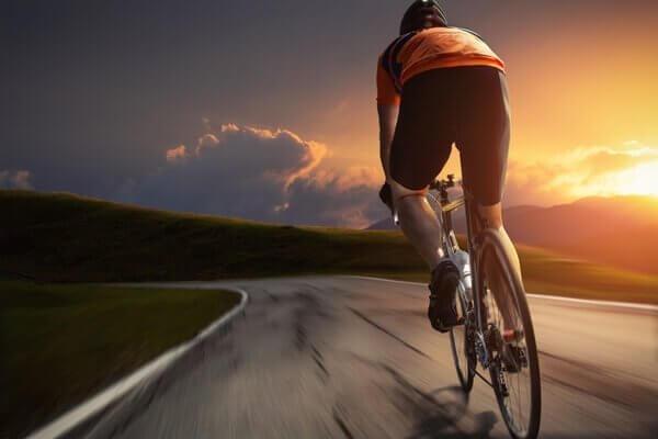 Landevejscyklist.