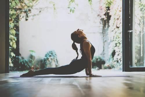 Yoga oevelse