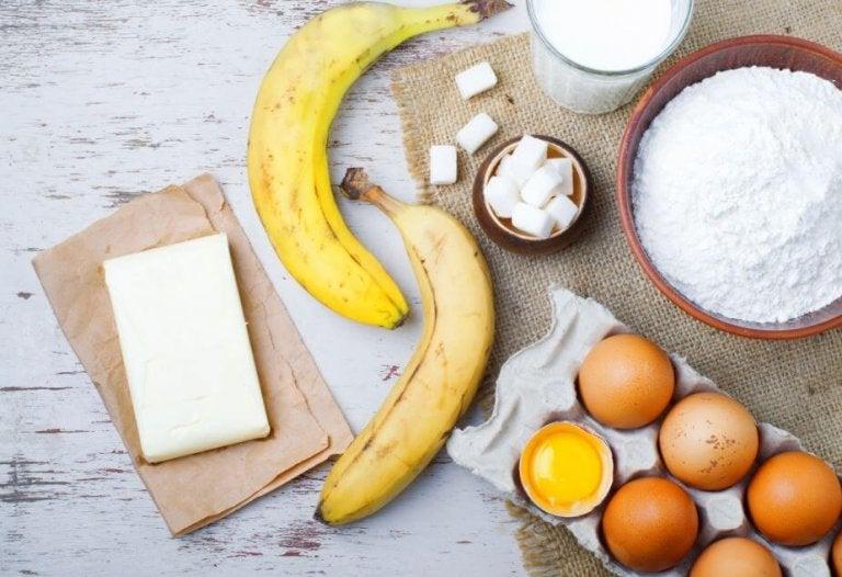 Bananer og tofu