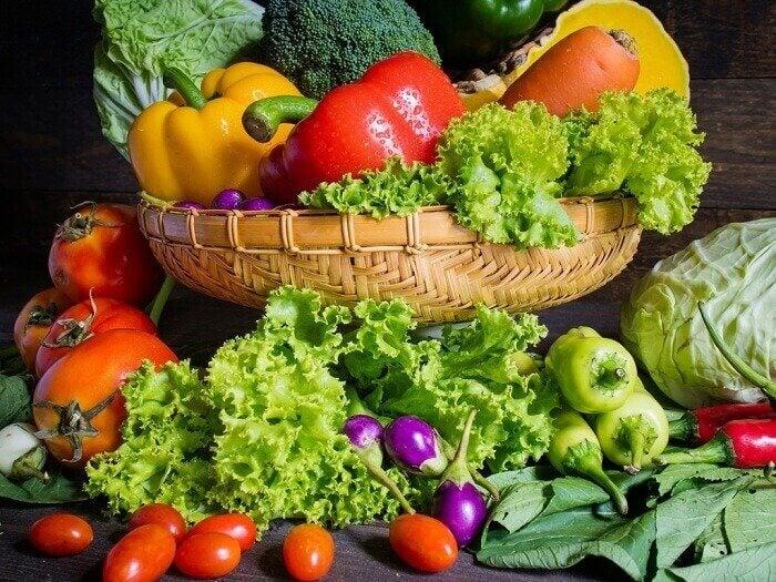 Sunde grøntsager