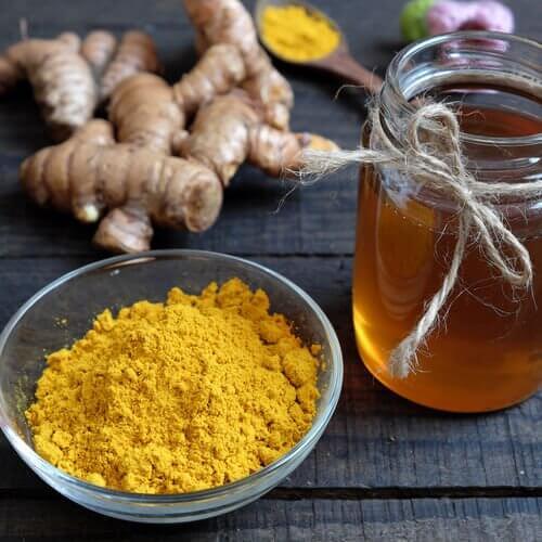 Ingefær og honning