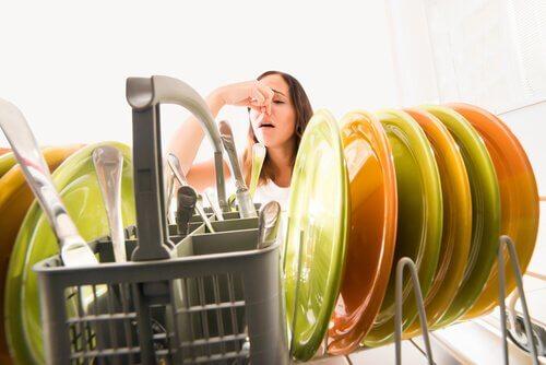 Opvask der lugter