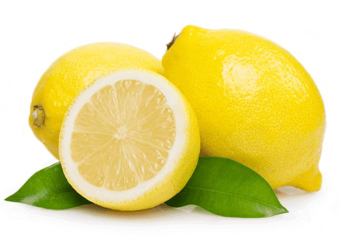 citronsaft til at fjerne lugten af fugt