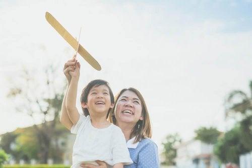 Japanske børn adlyder deres forældre.