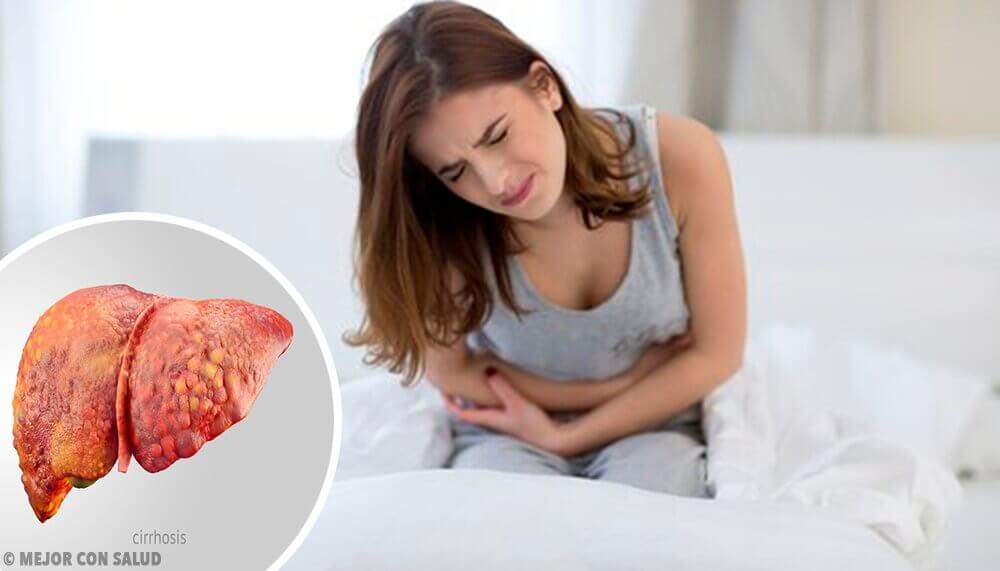 Kvinde har ondt i maven