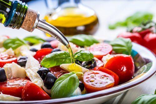 salat til frokost