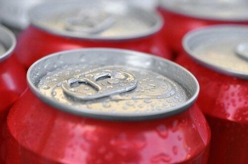 sodavand - fødevarer, som du bør undgå
