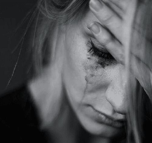Kvinde det græder