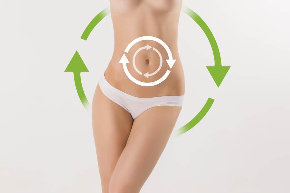 Kvindes krop