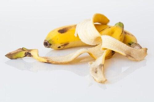 kompost med bananskræl