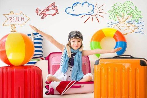 Tal med dit barn om de forskellige indtryk fra dets omgivelser