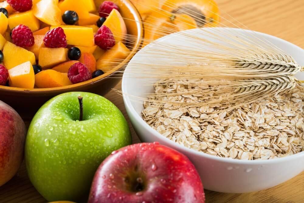 Forøg indtagelse af fiberrig mad
