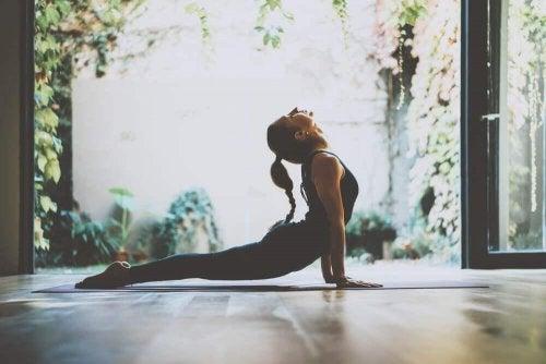 Yoga er godt for krop og sjæl
