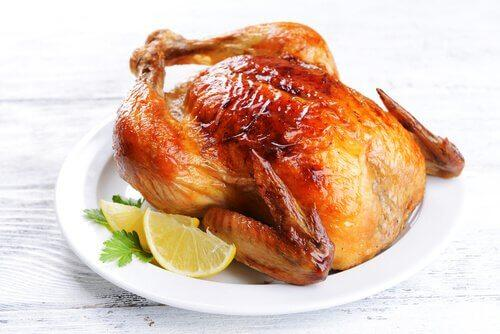 Prøv en dejlig kyllingesteg