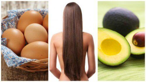 Øg din hårvækst med disse 8 fødevarer
