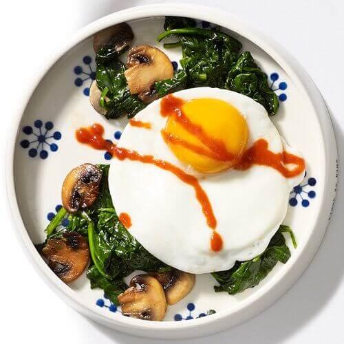 Æg indeholder mange næringsstoffer