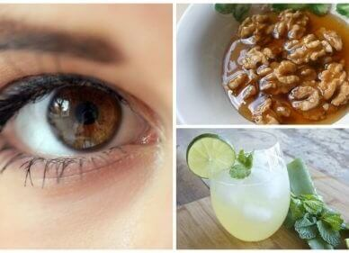 Sundere øjne med naturligt aloe vera middel