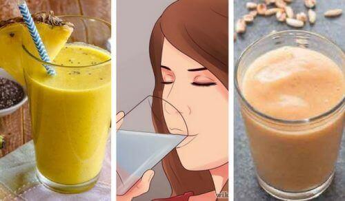 5 lækre veganske smoothies med protein og fiber