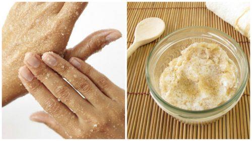 Opskrift på naturlig sukkerscrub til dine hænder