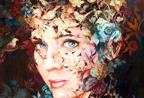 Billede af smuk kvinde