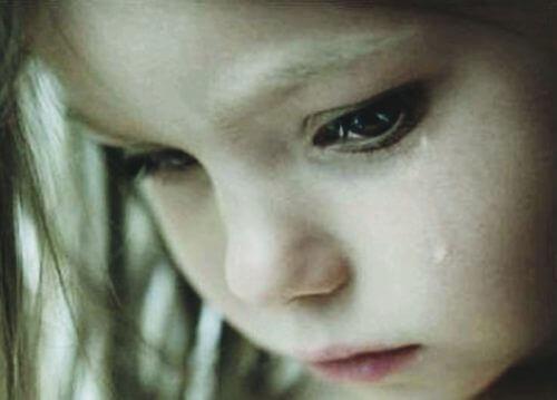 Barn der græder