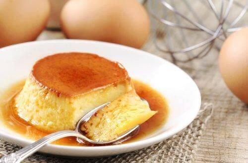 Napolitansk flan er en af de sunde fortrydelsesfrie desserter