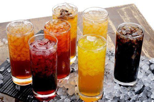 Undgaa drikke med sukker indhold