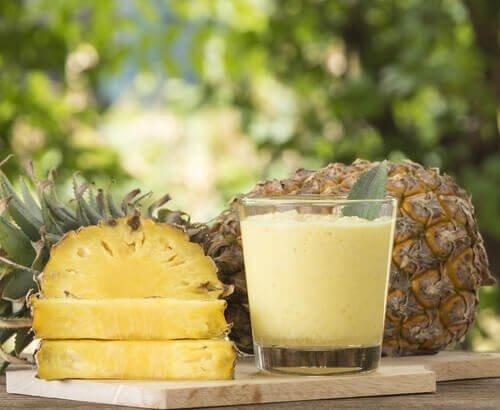 ananas og vitamin c
