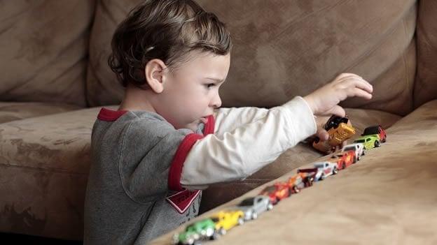 barn med autisme