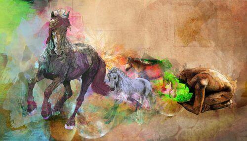 fleksible sind symboliseres af heste