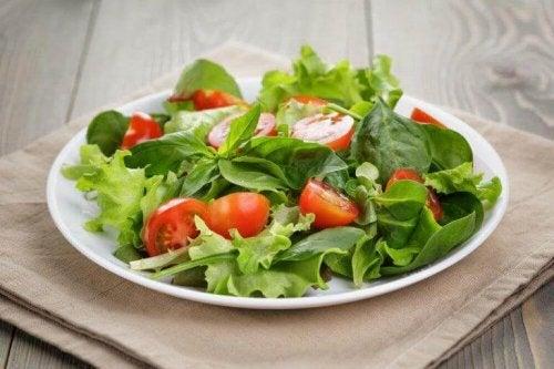 Fokuser på hvilke grøntsager dit måltid skal indeholde