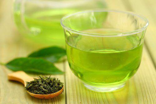 Fire opskrifter på grøn te