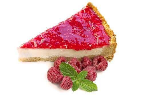 Hindbær cheesecake, fortrydelsesfrie desserter
