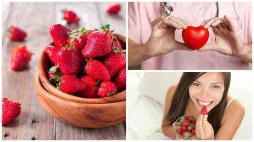 8 fordele ved jordbær for din sundhed