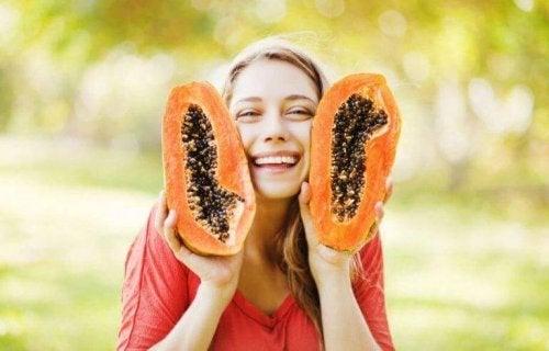 Papaya er effektivt til at slå bakterier ihjel