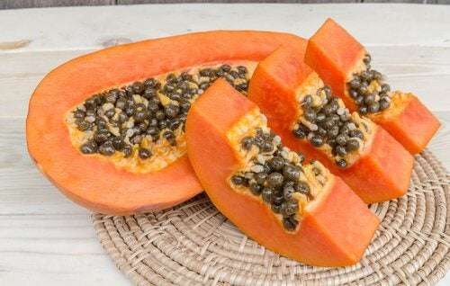 Papaya er godt til bekæmpelse af acne