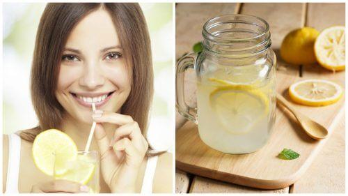 9 fordele ved at drikke varmt vand og citronsaft